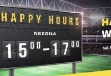 Niedzielne wygrane powiększone o 14%. Tylko w Fortuna Happy Hours!