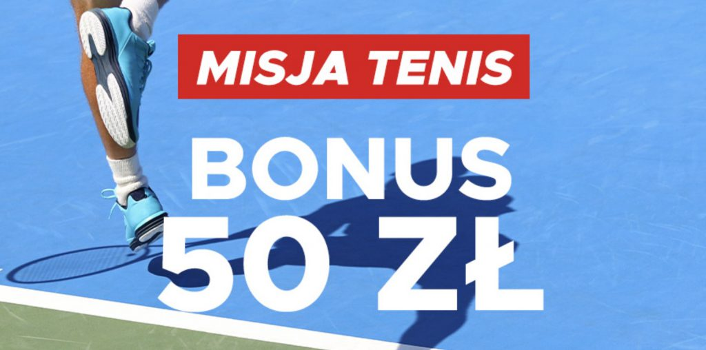 50 PLN na US Open w Betclic Polska!