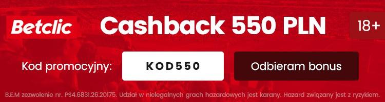 legalny w Polsce bukmacher Betclic kod promocyjny