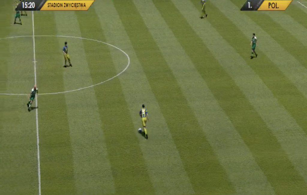 Tak wyglądają wirtualne mecze w Fortunie