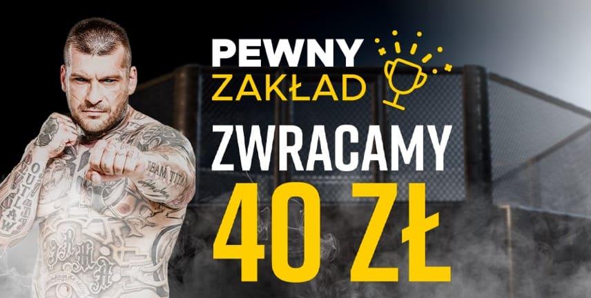 Betclic daje 40 PLN za obstawianie Fame MMA 7!