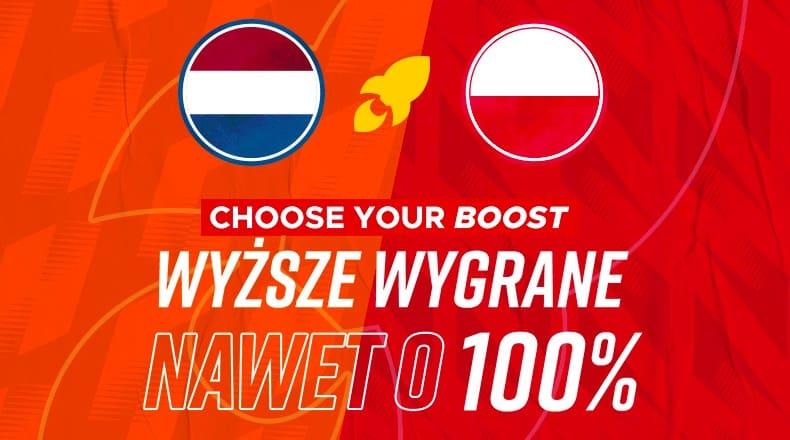 Obstawianie Holandia - Polska. Wygrane większe o 100% w Betclic!