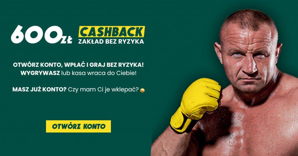 Nowy bonus powitalny Betfan. Cashback 600 PLN + 100% do 1000 PLN!