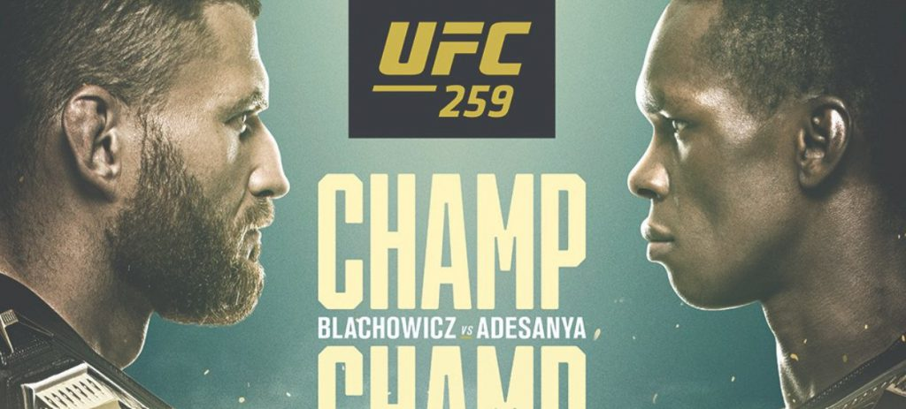 UFC 259 typy bukmacherskie. Błachowicz - Adesanya - na kogo postawić?