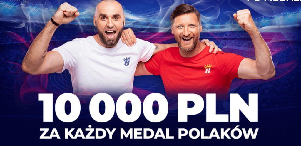 Bonusy na Tokio 2020 w eWinner. Medal warty 10.000 PLN!